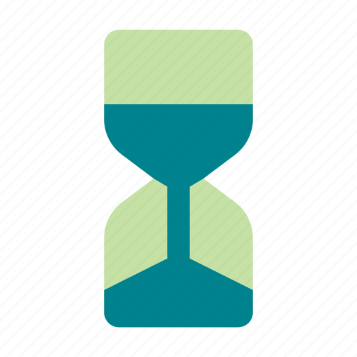 business, hourglass, management, time icon