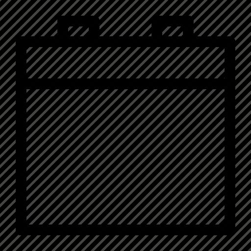agenda, business, calendar, management, schedule icon