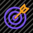 arrow, focus, target icon