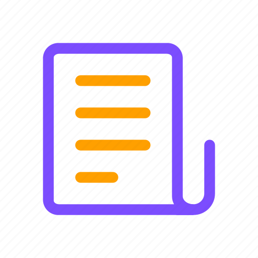 doc, document, paper, proposal icon