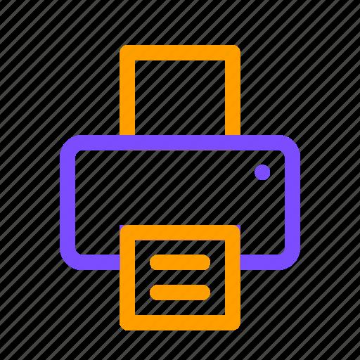 letter, paper, print icon
