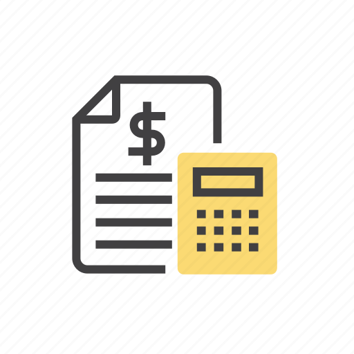 accouting, business, calculating, marketing icon