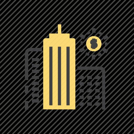 big, business, finance, marketing, report icon