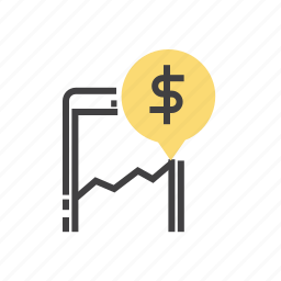 business, finance, marketing, mobile, smartphone icon