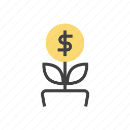 business, graph, growth, marketing, money icon