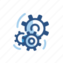 gears, options, preferences, settings icon