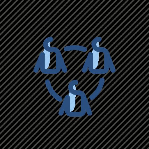 communication, group, team, teamwork icon