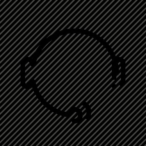 customer, headphone, headset, service, support icon
