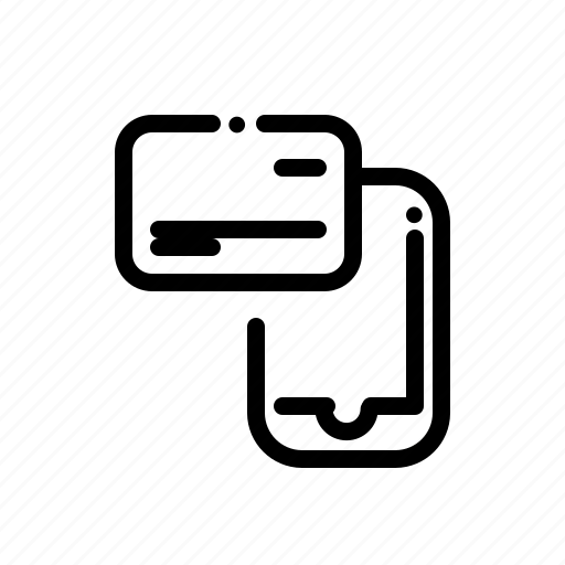mobile, money, payment, phone, smartphone icon