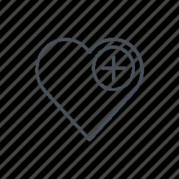 best, favorite, heart, like, love, mark, valentine icon