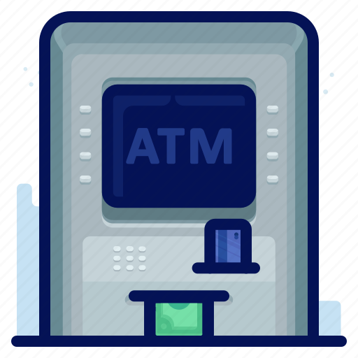 atm, finance, money, withdrawal icon
