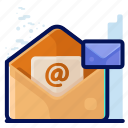 business, email, mail, memo, message icon
