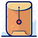 business, file, folder, paper icon