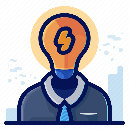 brainstorm, business, idea, process, thought icon