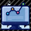 analytics, computer, monitor, statistics