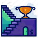 achievement, award, business, target, trophy icon