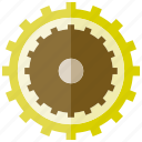 cogwheel, gear, rotate icon