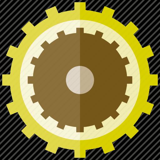 cogwheel, gear, rotate icon