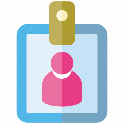 card, id card, identification, office, personal icon