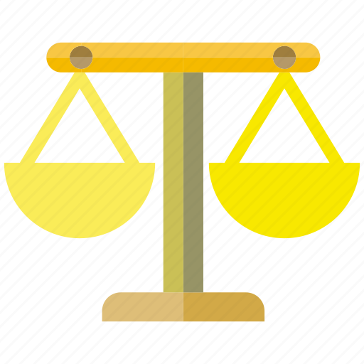 balance, judge, lawyer, legal, scale icon