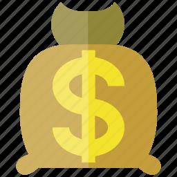 fund, invest, money, purse icon