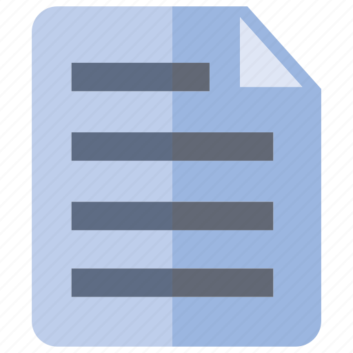 document, information, notepad, paper icon