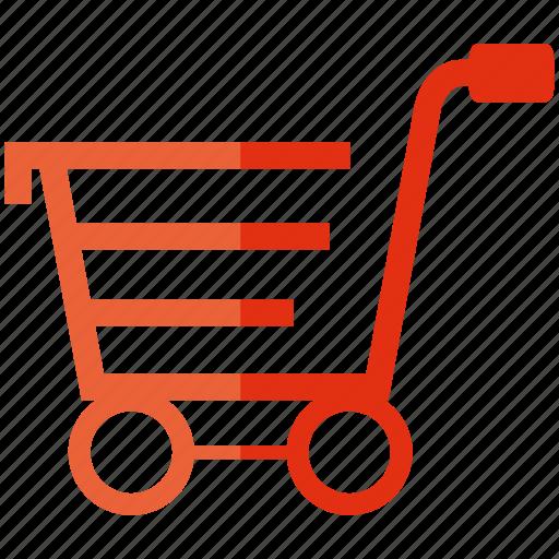 commerce, shopping, shopping cart icon