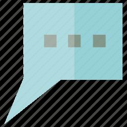message, speech, talk icon