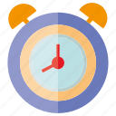 alarmclock, alert, clock, time icon