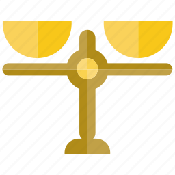 balance, judge, legal, scale icon