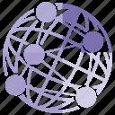 global, globe, link, world icon