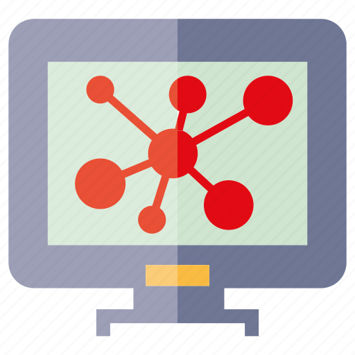 computer, share icon