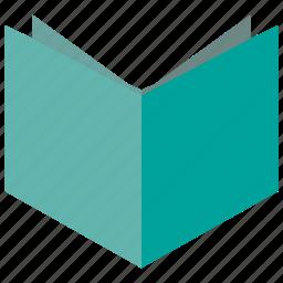 book, paper, read icon