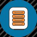 bank, document, explorer, file, financial, folder, format icon