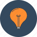 bulb, business, design, finance, light, office, web icon