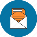 business, document, documents, file, letter, marketing, office icon