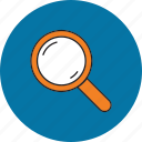 business, document, find, magnifier, search, seo, web icon