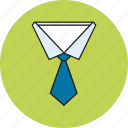 corporate, dressing, shirt icon