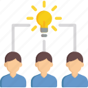 brainstorming, business, idea, interface, think icon