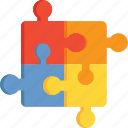 game, gaming, piece, puzzle, shapes icon