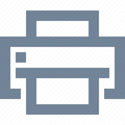 file, machine, office, print, printer icon