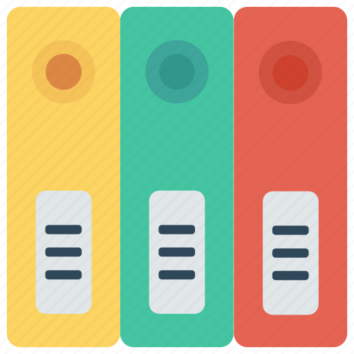 archive, binder, document, files, office icon