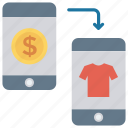 buying, ecommerce, mobile, online, shopping icon
