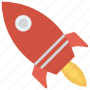 alienship, rocket, spaceship, speedup, startup icon