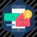 app, links, media, mobile, money, social, youtube icon