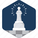 business, chess, game, manage, management, strategy icon