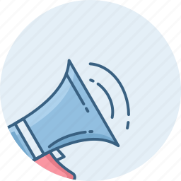 announce, audio, broadcast, loud, speaker, voice, volume icon