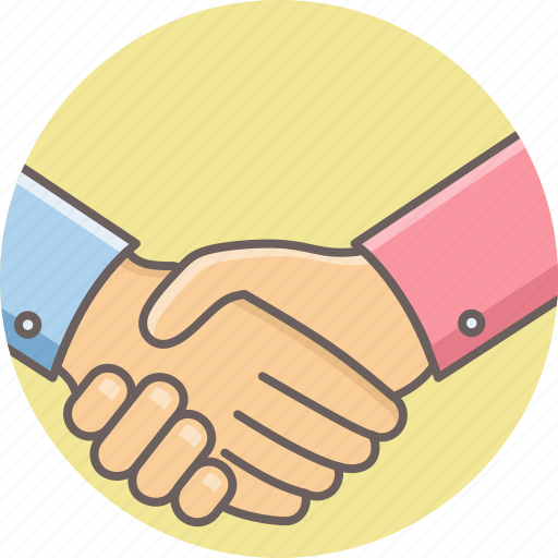 business, deal, handshake, meet, meeting, office, work icon