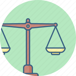 balance, equal, equality, justice, measure, scale, scales icon