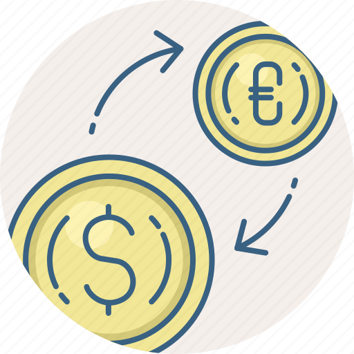 business, conversion, convert, currency, exchange, finance, money icon